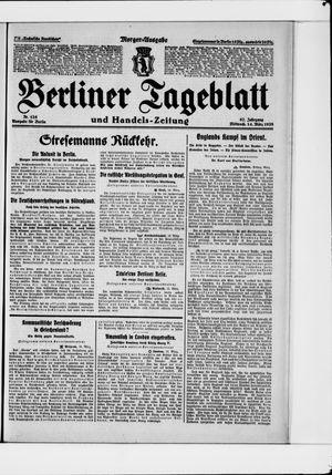 Berliner Tageblatt und Handels-Zeitung vom 14.03.1928