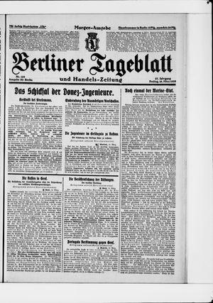 Berliner Tageblatt und Handels-Zeitung vom 16.03.1928