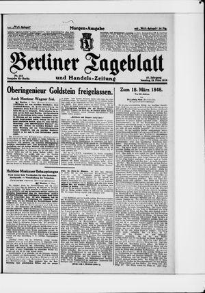 Berliner Tageblatt und Handels-Zeitung vom 18.03.1928