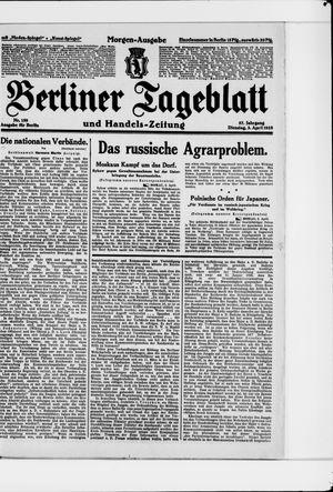 Berliner Tageblatt und Handels-Zeitung vom 03.04.1928