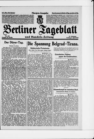 Berliner Tageblatt und Handels-Zeitung vom 06.04.1928