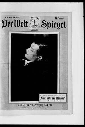 Berliner Tageblatt und Handels-Zeitung vom 22.04.1928