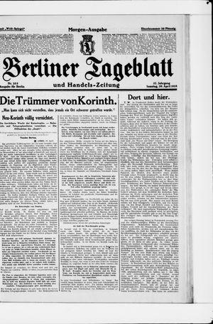 Berliner Tageblatt und Handels-Zeitung vom 29.04.1928