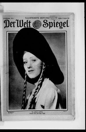 Berliner Tageblatt und Handels-Zeitung vom 05.01.1930