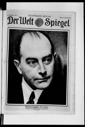 Berliner Tageblatt und Handels-Zeitung vom 26.01.1930