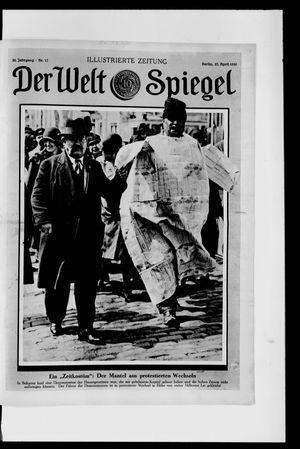Berliner Tageblatt und Handels-Zeitung vom 27.04.1930