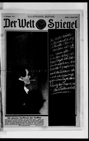 Berliner Tageblatt und Handels-Zeitung vom 04.01.1931