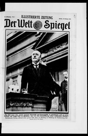 Berliner Tageblatt und Handels-Zeitung vom 15.02.1931
