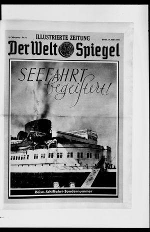 Berliner Tageblatt und Handels-Zeitung on Mar 15, 1931