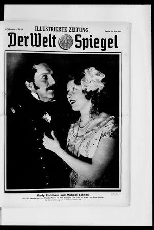 Berliner Tageblatt und Handels-Zeitung vom 10.05.1931