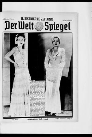Berliner Tageblatt und Handels-Zeitung vom 24.05.1931