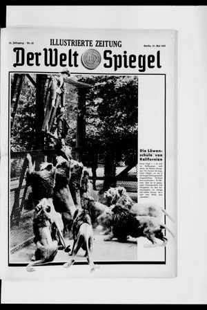 Berliner Tageblatt und Handels-Zeitung on May 31, 1931