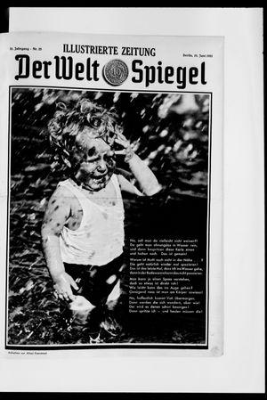 Berliner Tageblatt und Handels-Zeitung vom 21.06.1931