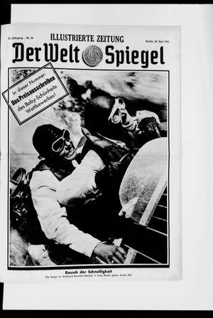 Berliner Tageblatt und Handels-Zeitung vom 28.06.1931