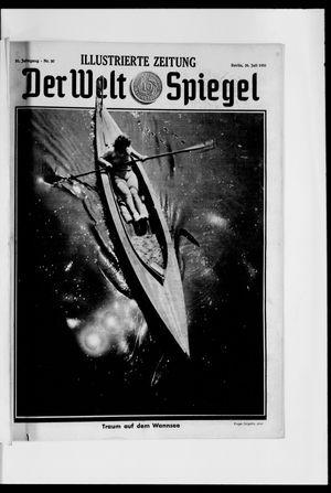 Berliner Tageblatt und Handels-Zeitung vom 26.07.1931