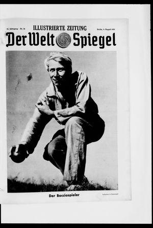 Berliner Tageblatt und Handels-Zeitung vom 09.08.1931