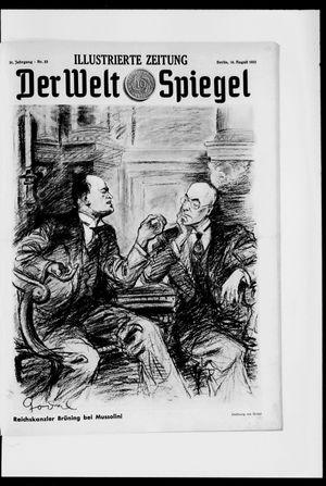 Berliner Tageblatt und Handels-Zeitung vom 16.08.1931