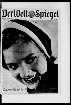 Berliner Tageblatt und Handels-Zeitung on Jan 22, 1933