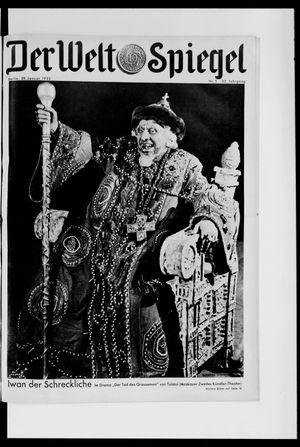 Berliner Tageblatt und Handels-Zeitung vom 29.01.1933
