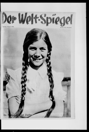 Berliner Tageblatt und Handels-Zeitung vom 09.04.1933