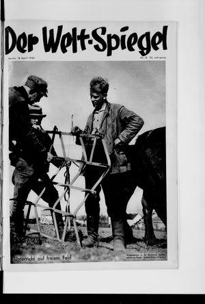Berliner Tageblatt und Handels-Zeitung on Apr 16, 1933