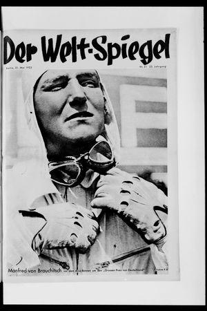 Berliner Tageblatt und Handels-Zeitung vom 21.05.1933