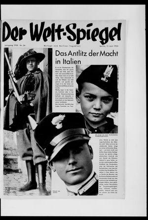 Berliner Tageblatt und Handels-Zeitung vom 11.06.1933