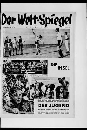 Berliner Tageblatt und Handels-Zeitung on Jul 2, 1933