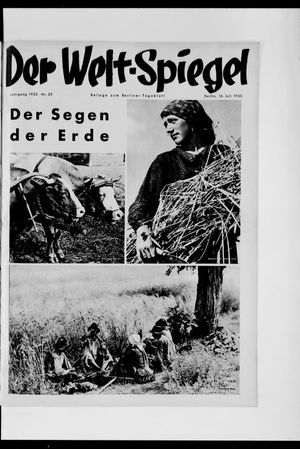 Berliner Tageblatt und Handels-Zeitung vom 16.07.1933