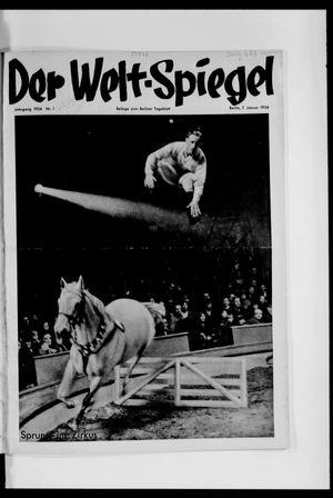 Berliner Tageblatt und Handels-Zeitung vom 07.01.1934