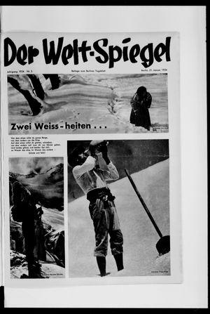 Berliner Tageblatt und Handels-Zeitung vom 21.01.1934