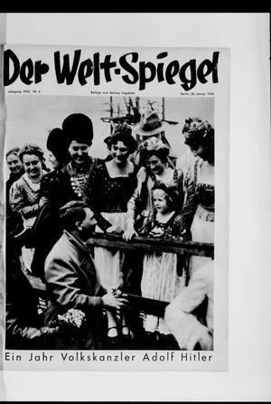 Berliner Tageblatt und Handels-Zeitung vom 28.01.1934