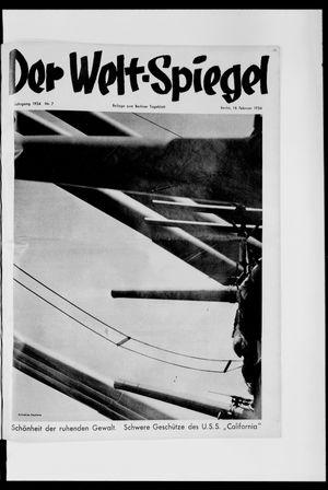 Berliner Tageblatt und Handels-Zeitung vom 18.02.1934