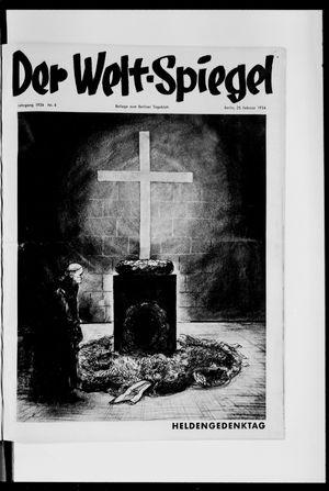 Berliner Tageblatt und Handels-Zeitung vom 25.02.1934