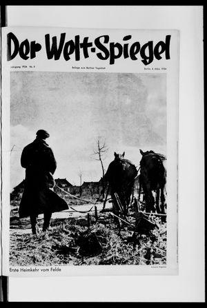 Berliner Tageblatt und Handels-Zeitung vom 04.03.1934