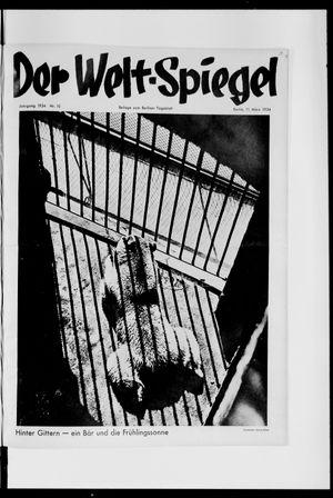 Berliner Tageblatt und Handels-Zeitung vom 11.03.1934