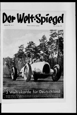 Berliner Tageblatt und Handels-Zeitung vom 18.03.1934