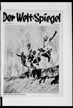 Berliner Tageblatt und Handels-Zeitung vom 25.03.1934