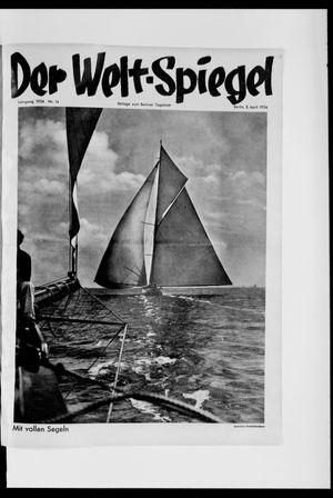 Berliner Tageblatt und Handels-Zeitung vom 08.04.1934