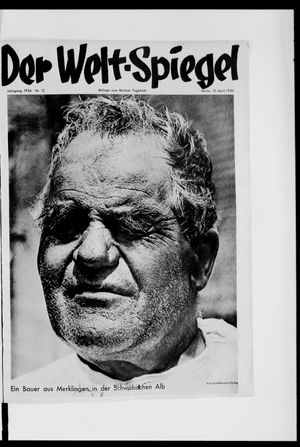 Berliner Tageblatt und Handels-Zeitung vom 15.04.1934