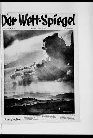 Berliner Tageblatt und Handels-Zeitung vom 20.05.1934