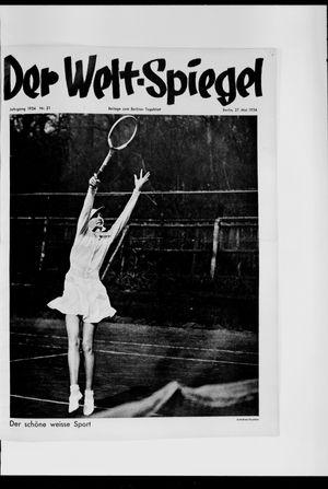 Berliner Tageblatt und Handels-Zeitung vom 27.05.1934