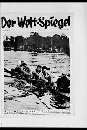 Berliner Tageblatt und Handels-Zeitung vom 22.07.1934