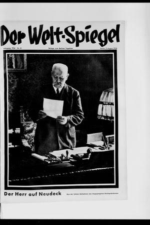 Berliner Tageblatt und Handels-Zeitung vom 05.08.1934