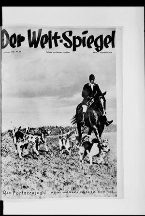 Berliner Tageblatt und Handels-Zeitung vom 02.09.1934