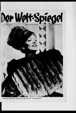 Berliner Tageblatt und Handels-Zeitung vom 09.09.1934