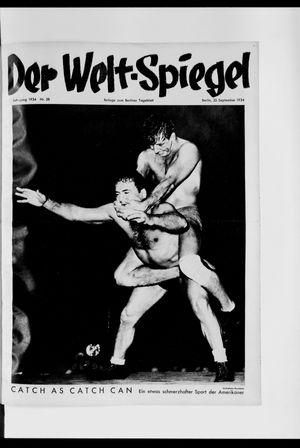 Berliner Tageblatt und Handels-Zeitung vom 23.09.1934