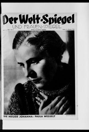 Berliner Tageblatt und Handels-Zeitung vom 14.10.1934