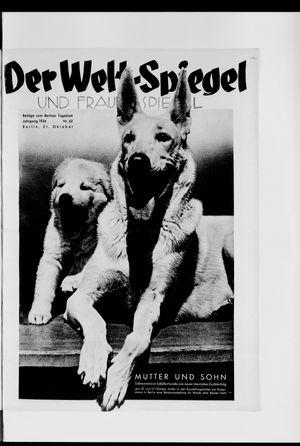 Berliner Tageblatt und Handels-Zeitung vom 21.10.1934