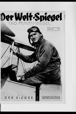 Berliner Tageblatt und Handels-Zeitung on Oct 28, 1934